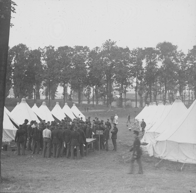 In afwachting van oefening troepen in Maastricht