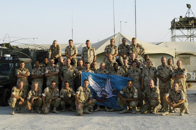 De Ganzen van de A-cie in Irak